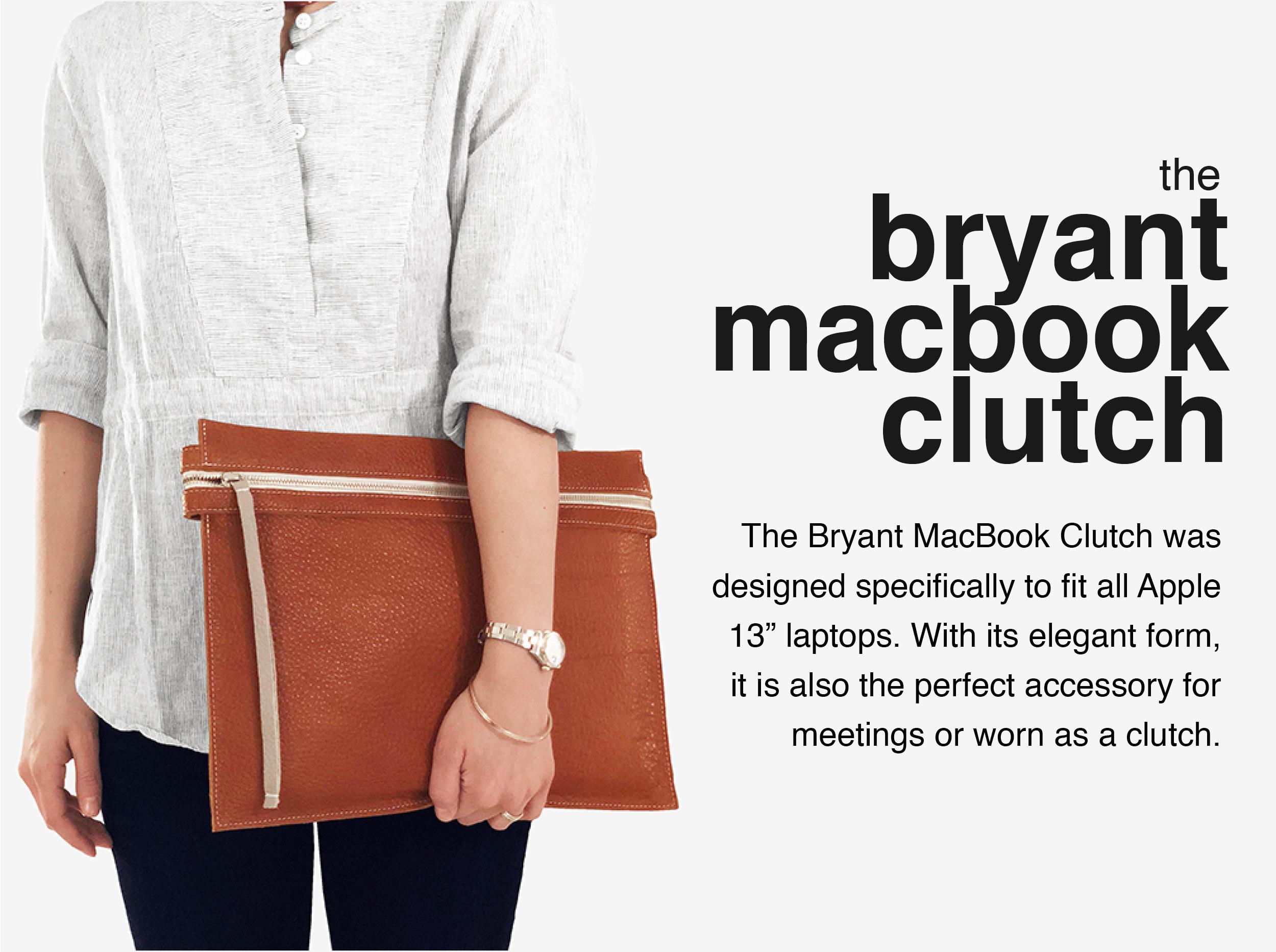 Maria-Castelli-Signature-Collection-Bryant-MacBook Clutch
