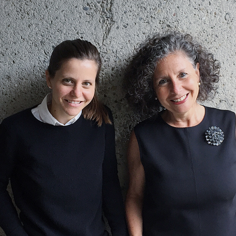 A MOTHER-DAUGHTER TEAM -  We are a mother-daughter team of architects with a passion for objects that are well designed and well made. We also LOVE handbags.