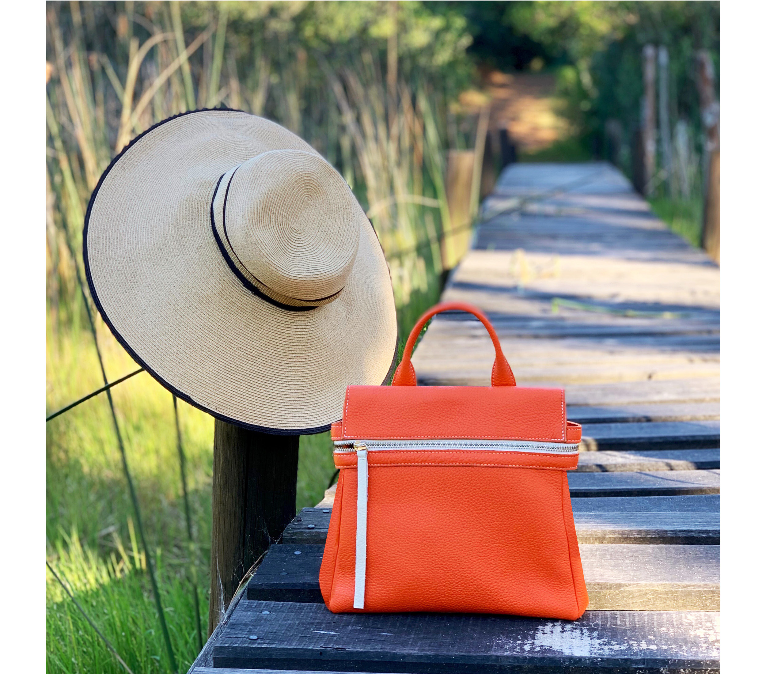 Maria-Castelli-Spring-Collection-Bryant-Mini-Bag-Backpack