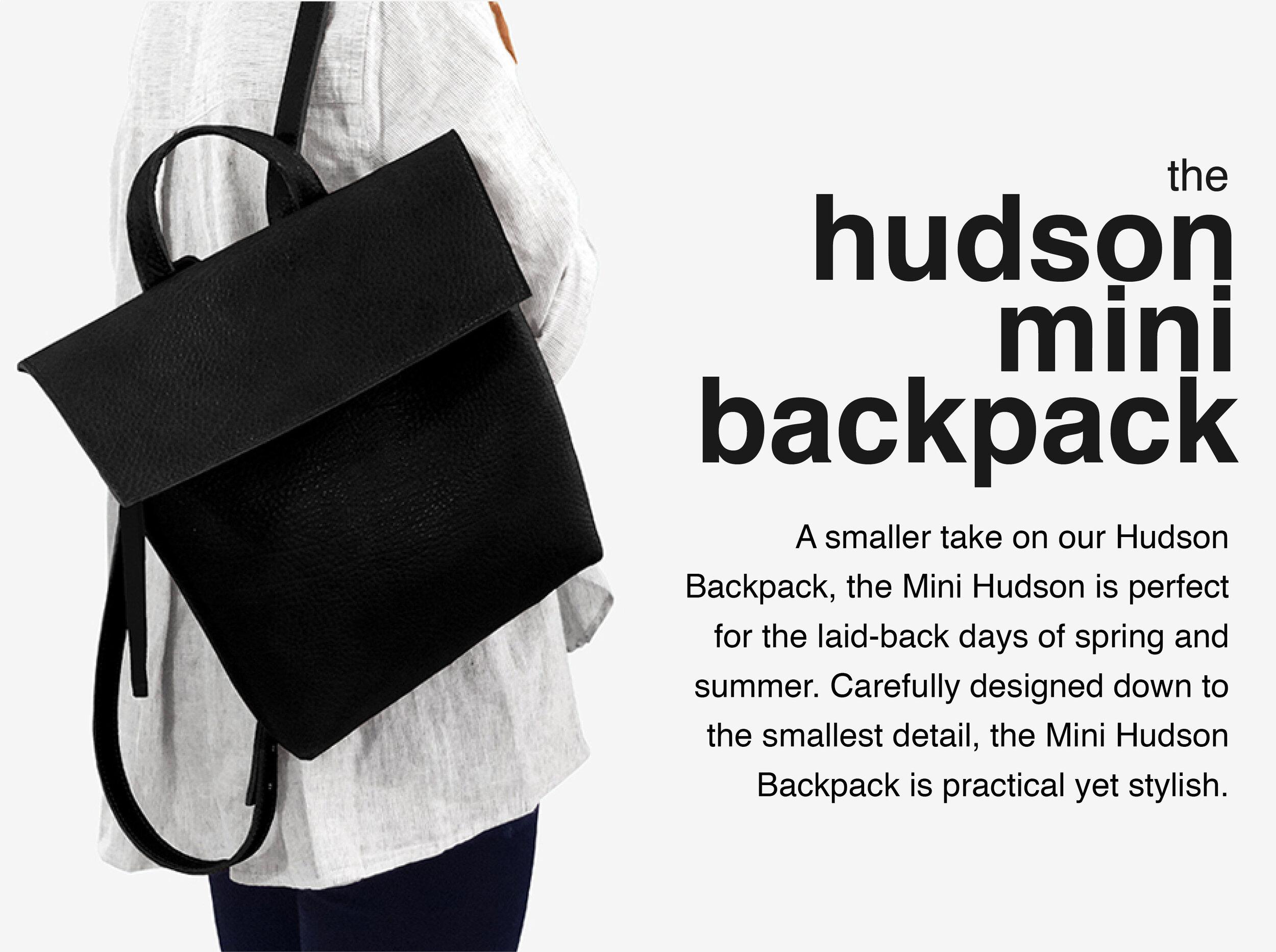 Maria-Castelli-Signature-Collection-Hudson-Mini Backpack
