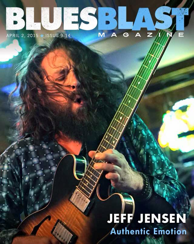 2015 Blues Blast Magazine Cover
