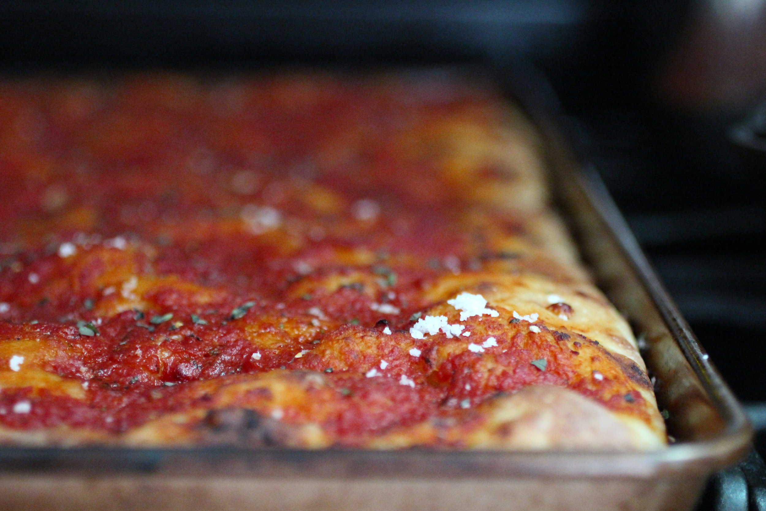 Savoie Organic Farm, Viereck Farms, and Muth Family Organic Farm have tomatoes for your philly-style tomato pie.