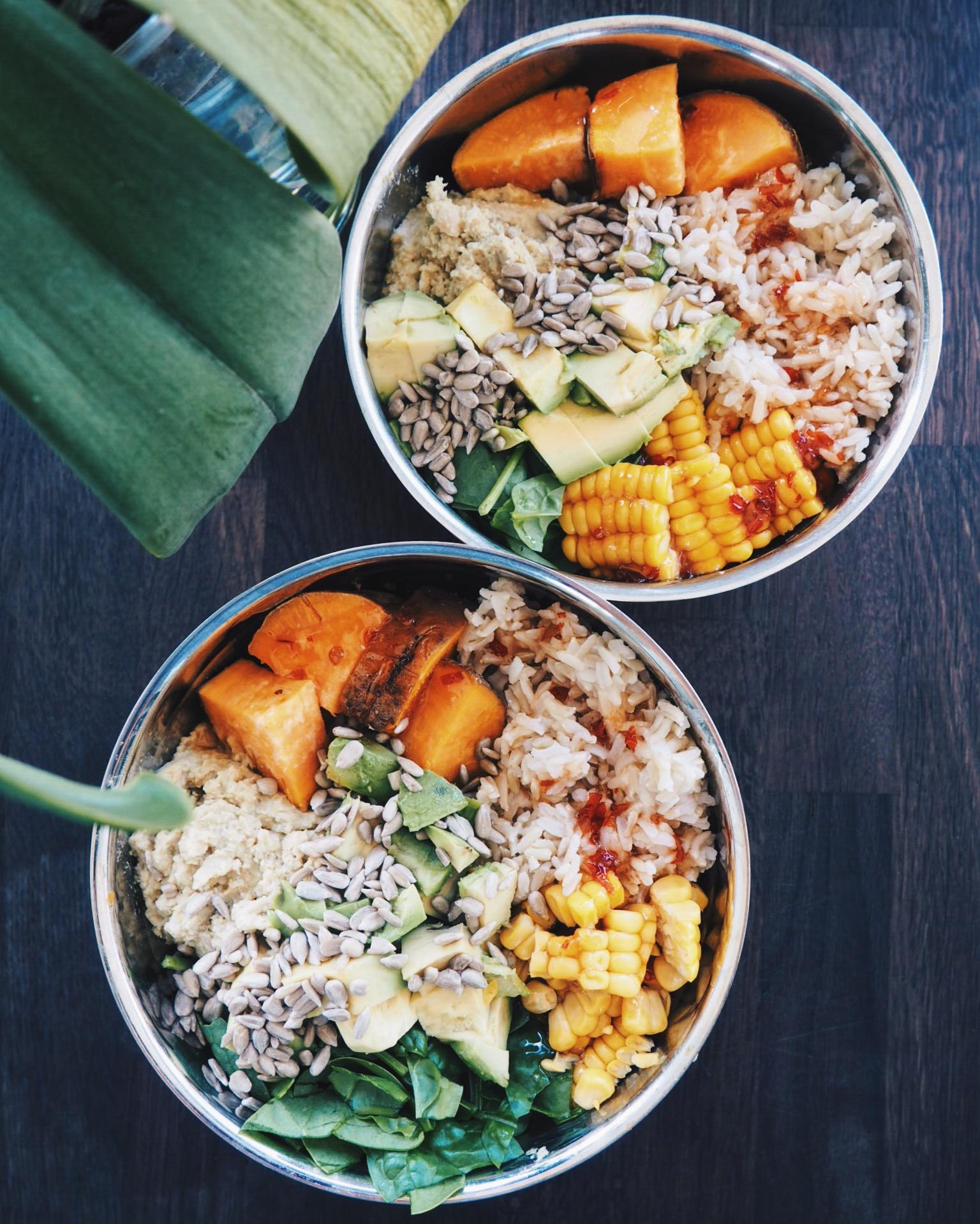 Thai Green Curry Chickpea Salad