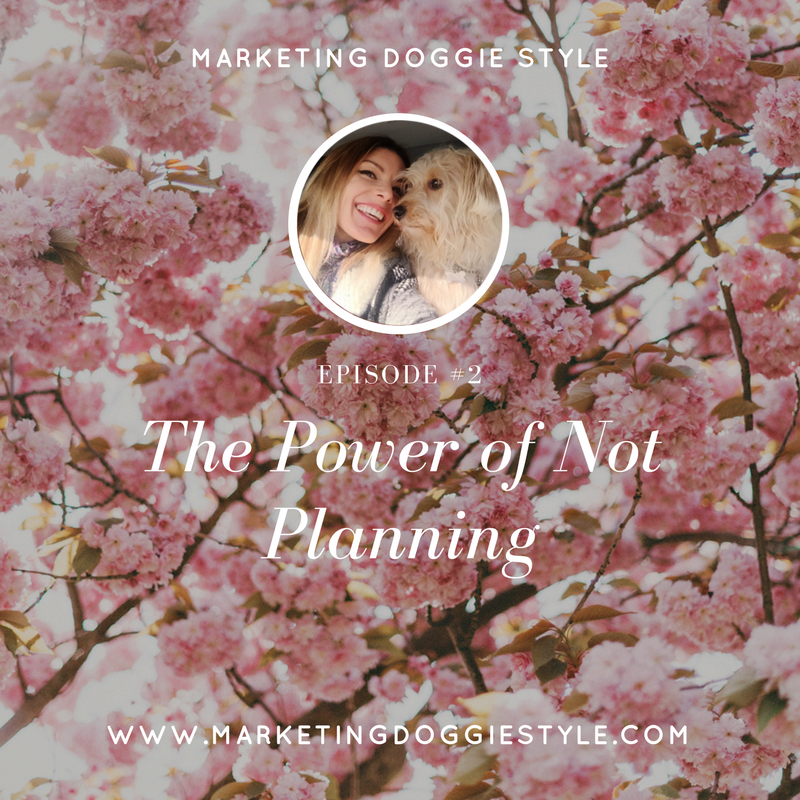 The Power of Not Planning