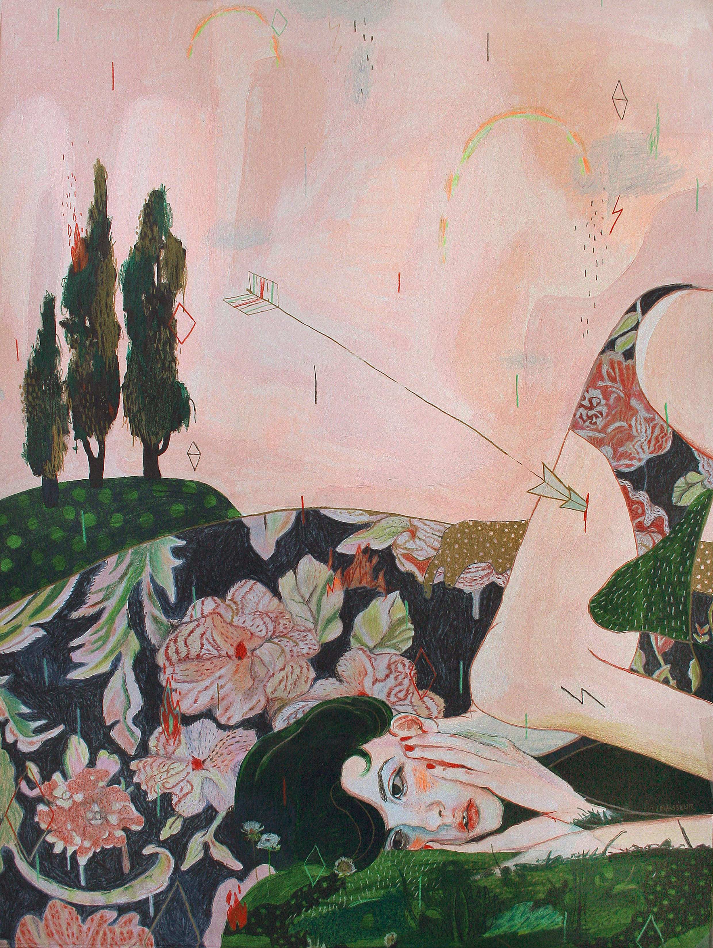 Featured Interview with Montreal Based Painter Alexandra Levasseur
