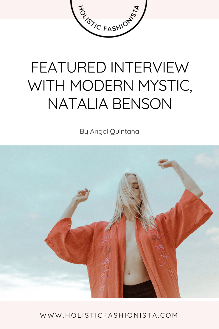 Featured Interview with Modern Mystic, Natalia Benson