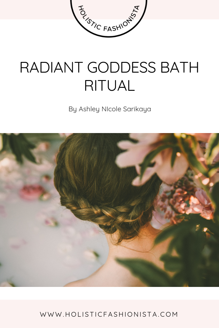 Radiant Goddess Bath Ritual