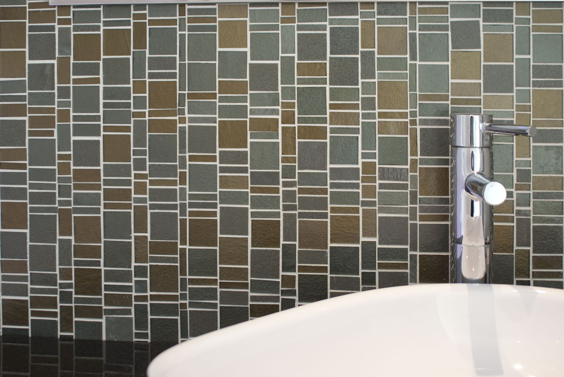 Liberty Dove glass mosaic from Trend