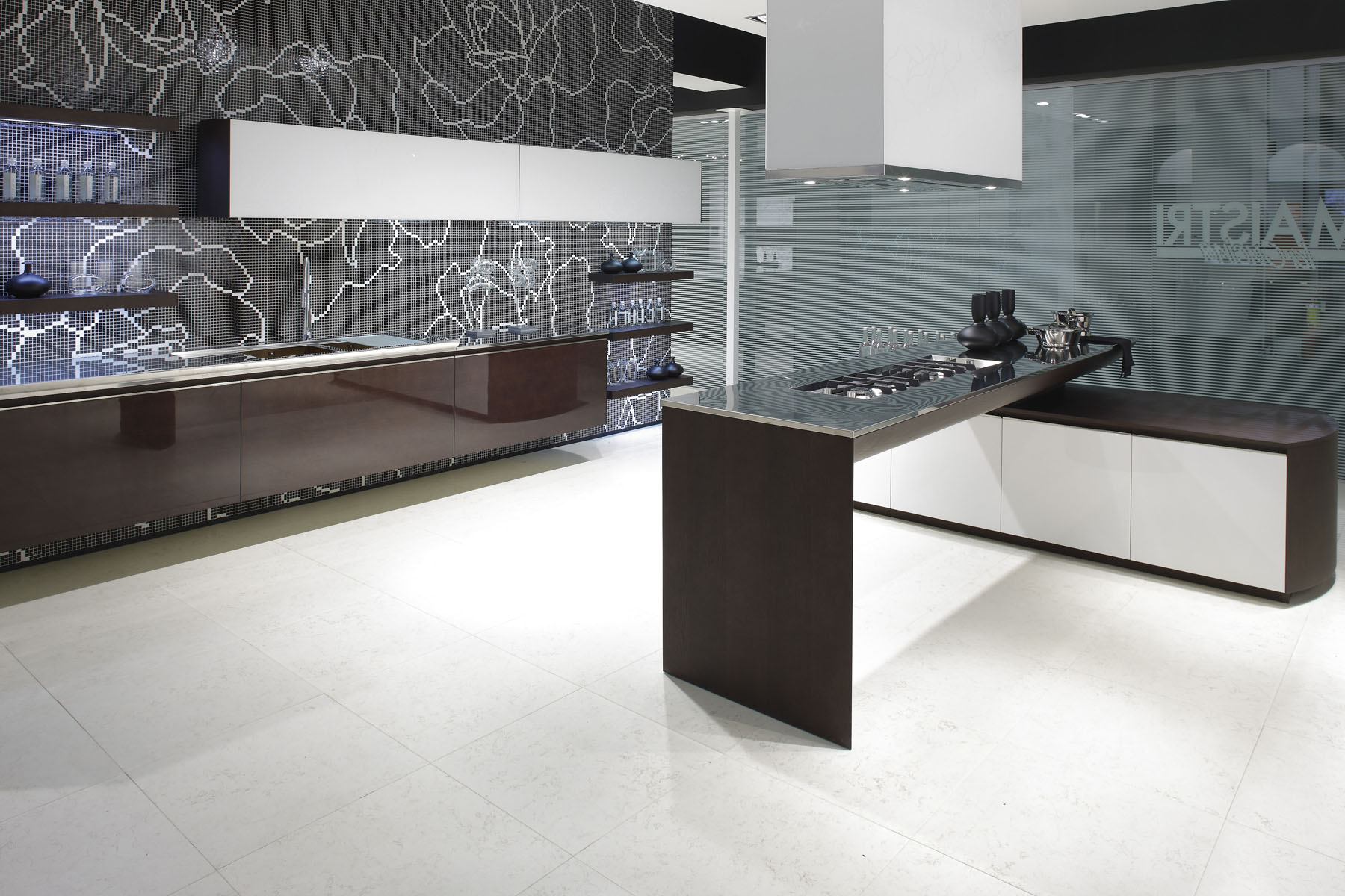 Trend - glass mosaic wallpaper