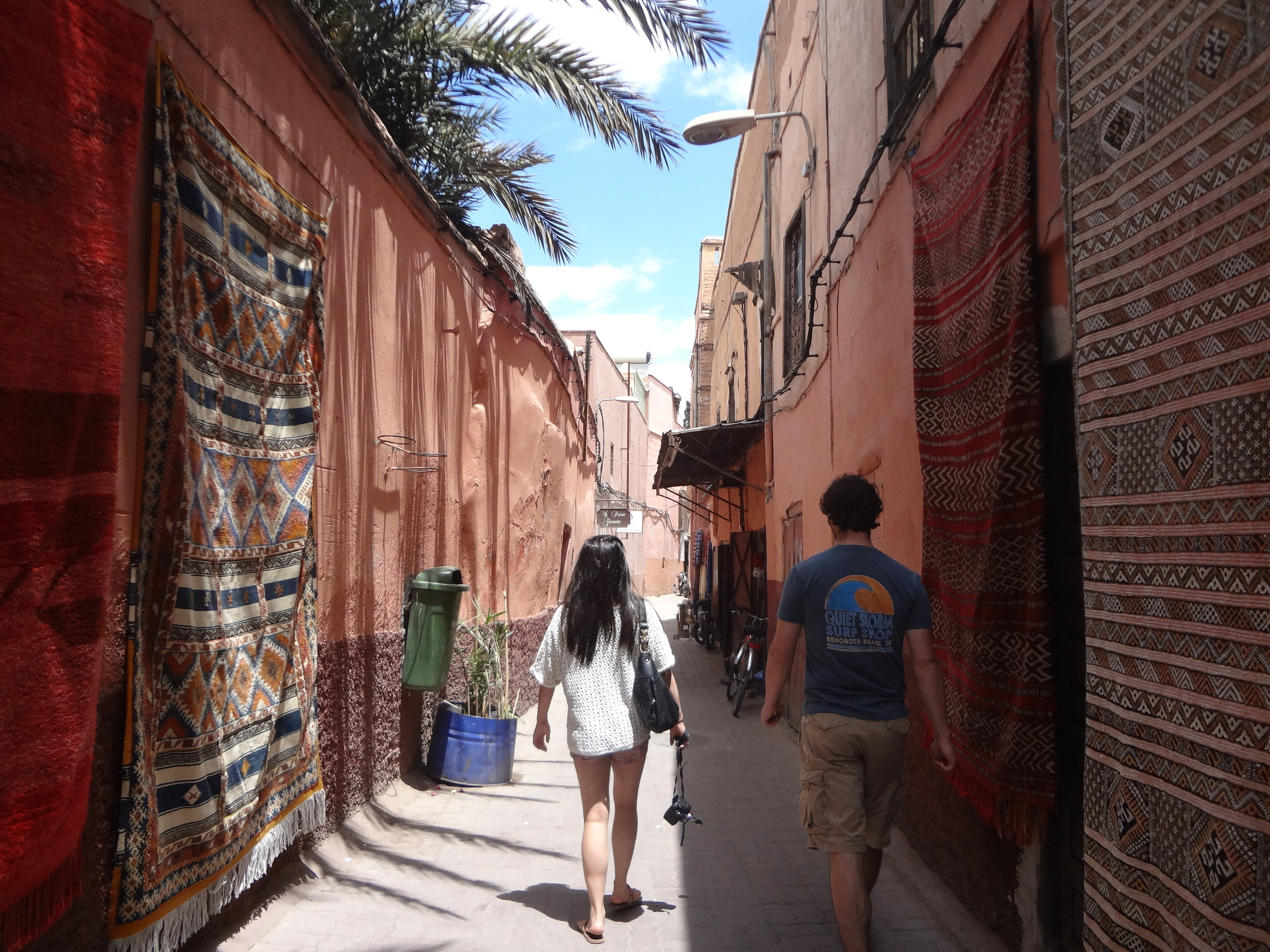 A walk down the streets of Marrakech