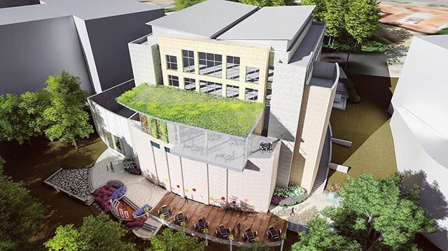 "PROJECT UPDATE: We are excited to be a part of the renovation at the Embassy of Bangladesh! We were tasked with designing a Visitor's Celebration Garden which features a Shaheed Minar Monument. This ""Mother Language Monument"" was originally established in Dhaka, Bangladesh to commemorate the Bengali protestors who lost their lives demanding official status for their native language. The garden will become a place to teach visitors about the social and cultural significance of the Bengali language in Bangladesh! #intreeguedesign #bangladesh #embassy #design #landscapearchitecture"
