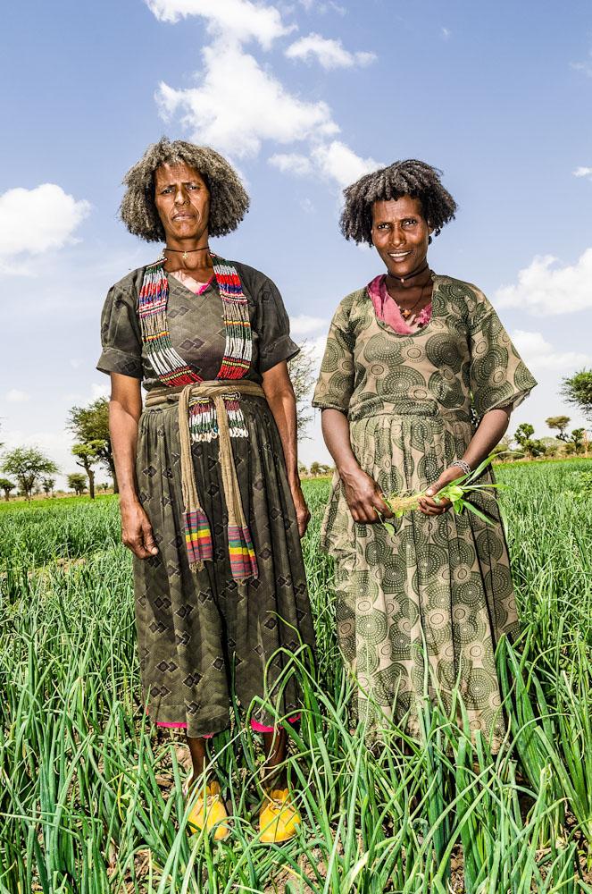 Bäurinnen in Meki/Äthiopien