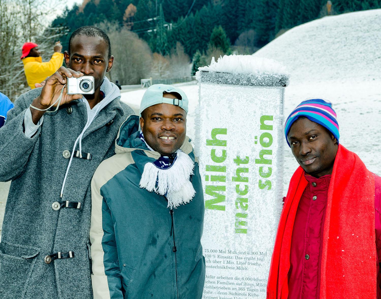 Flüchtlinge Winter Südtirol