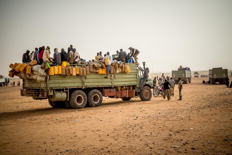 Flüchtlings-LKW-Agadez