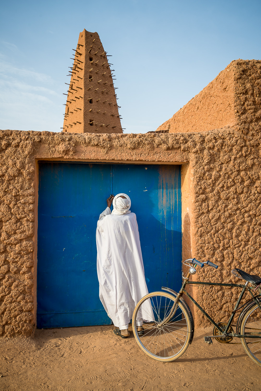 Dei Hauptmoschee von Agadez
