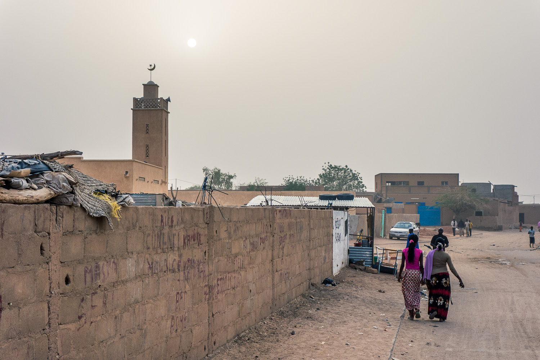 Straße in Agadez