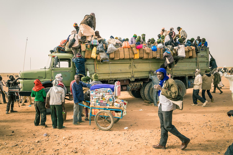 Der Aufbruch von Agadez