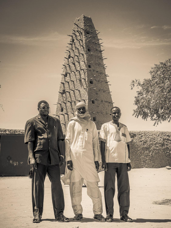 Die Mitarbeiter von HELP e.V. in Agadez