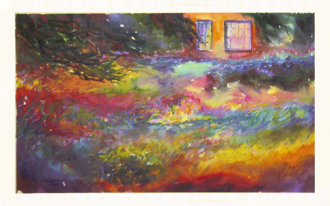 Nature Nuture - 16 x 20 watercolor