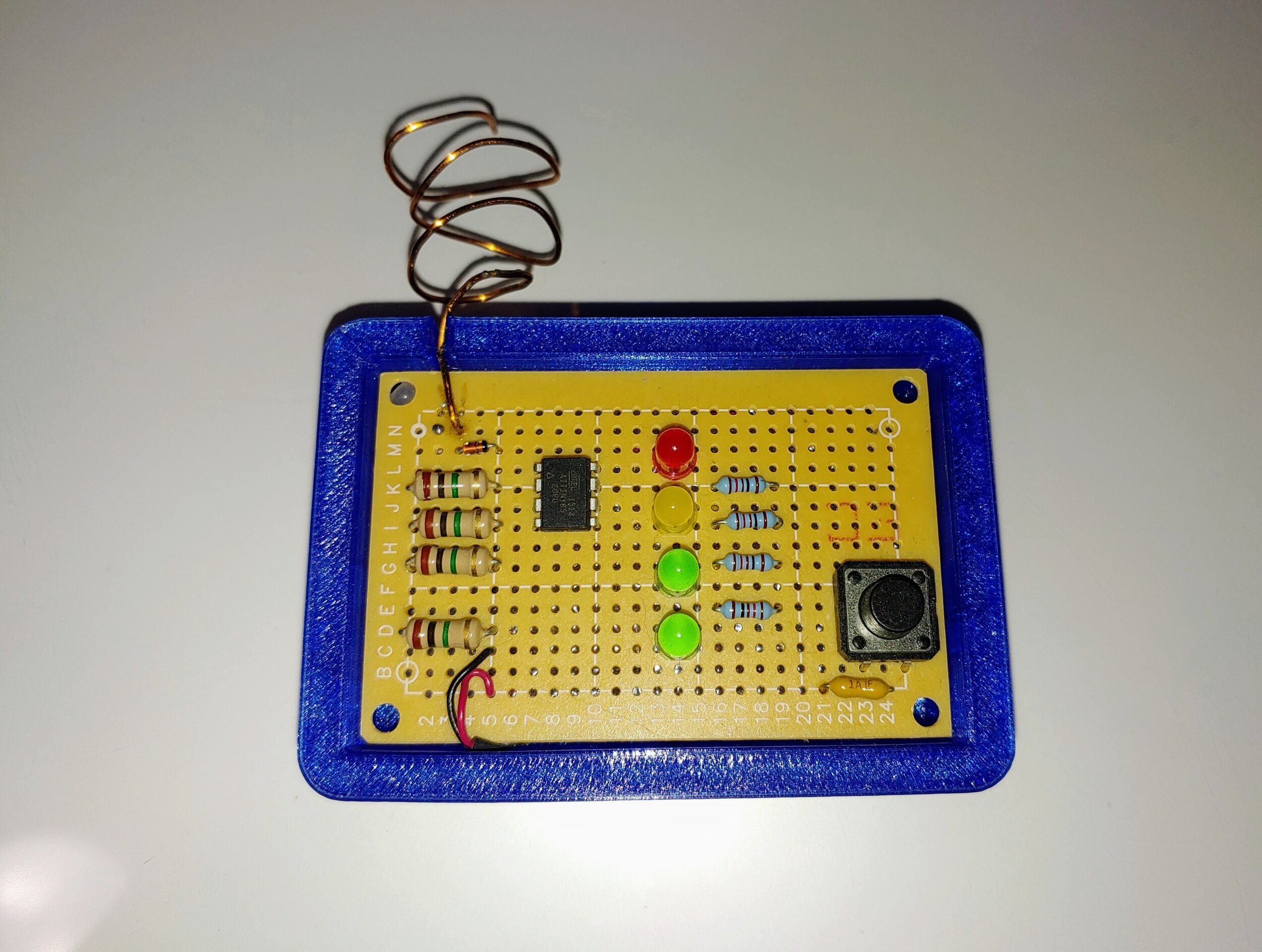 Homemade EMF detector for Ghost Hunting