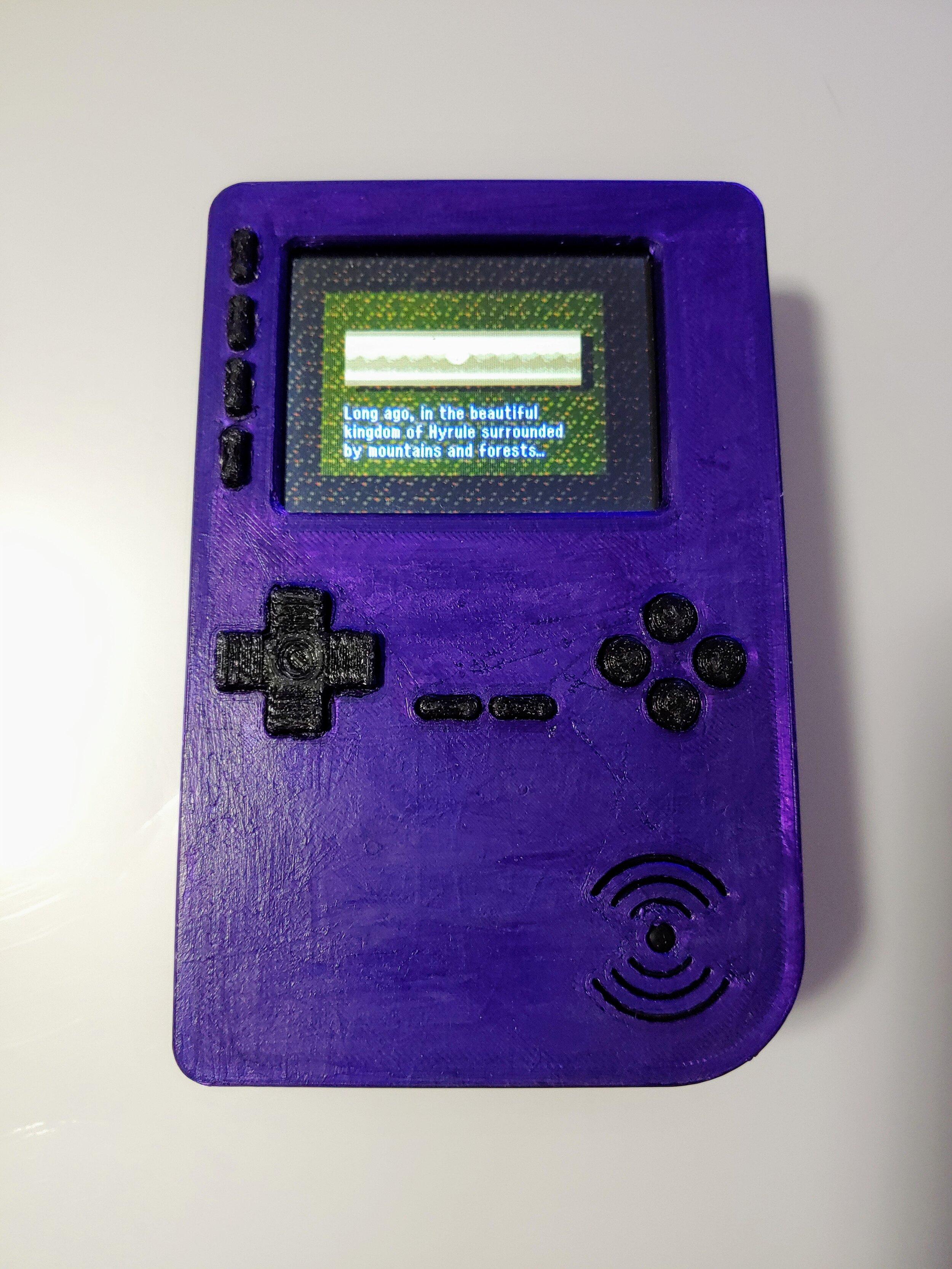 Homemade Raspberry Pi Handheld Gaming Device