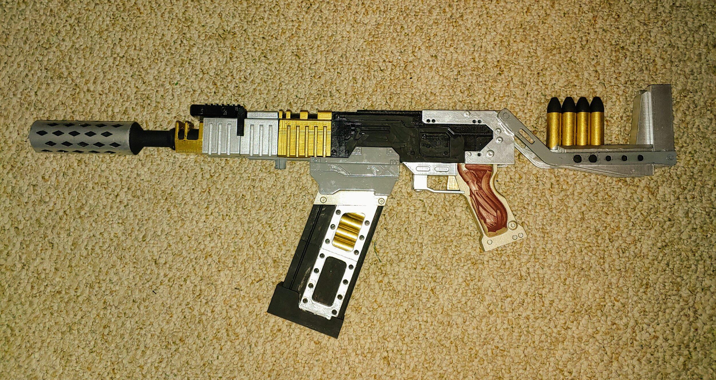 3D Printed Prop Gun from Firefly