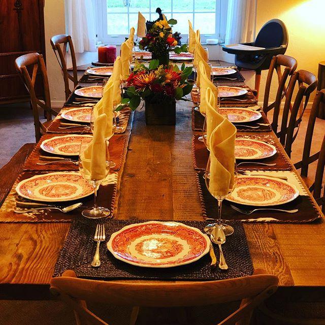 Fully prepped for #thanksgiving tomorrow. #grandmaschina #family #ranch #crackerboneranch