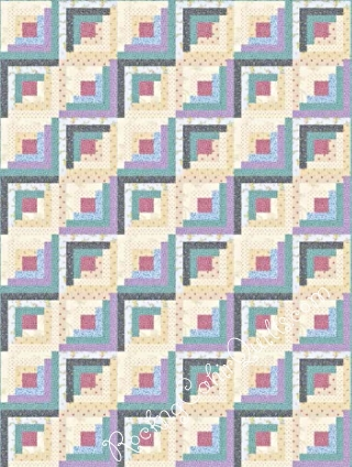 Carrie's Quilt features the Prairie Flowers Fabrics. RockingChairQuilts.com will have patterns and kits for you in November, 2015.