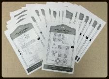 Sampler Shuffle Block Cards