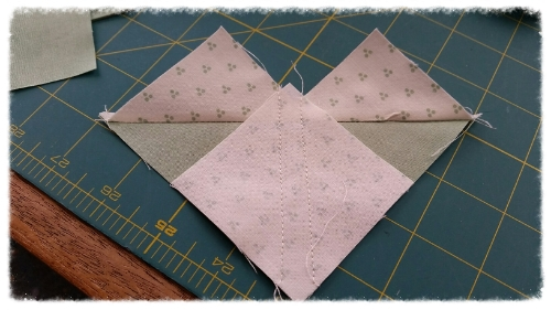 2 lines of stitching: