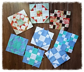 This week's Sampler Shuffle Blocks