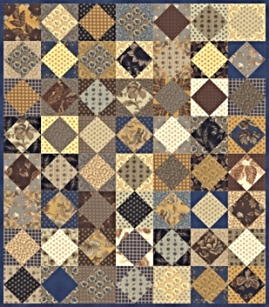 Here is a photo of what the HERITAGE QUILT looks like.