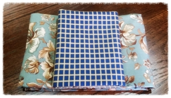 Eliza's Indigo fabrics-enough for your HERITAGE quilt back and binding.