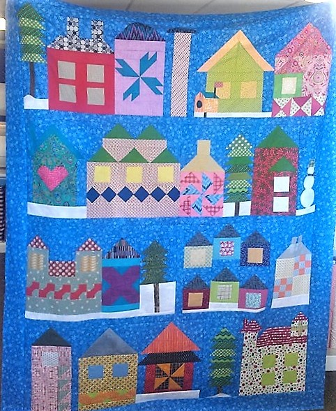 Rosemary Hendley 2nd Quilt