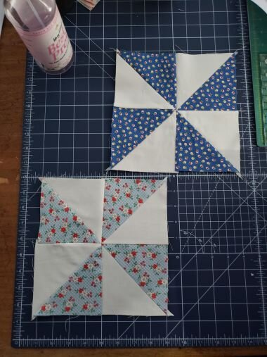 I decided on Pinwheels