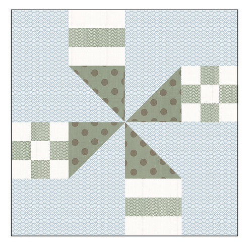 CLICK  on the block to download this free pattern.