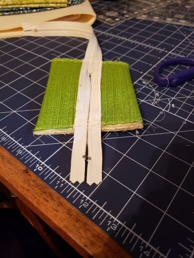Follow the steps in your pattern to complete box construction.