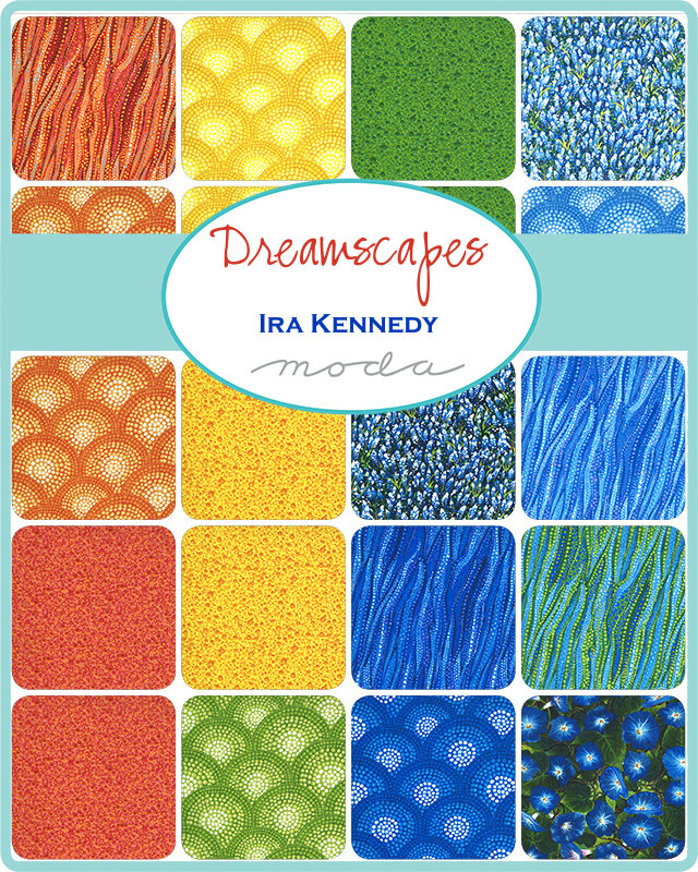 Dreamscapes Digital Home Place 51240 11D Moda Panel 28 x 44 100/% cotton fabric sold by the panel designer Ira Kennedy