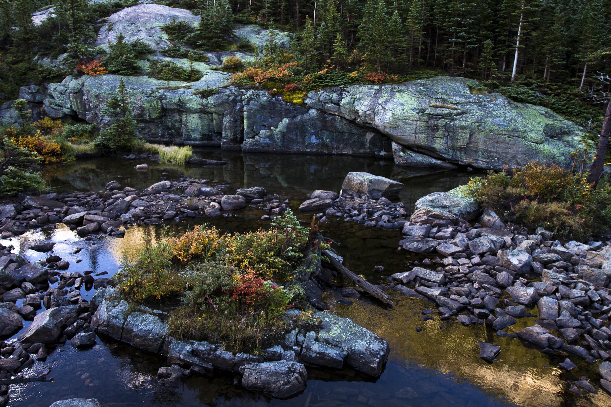 Near Mills Lake in RMNP