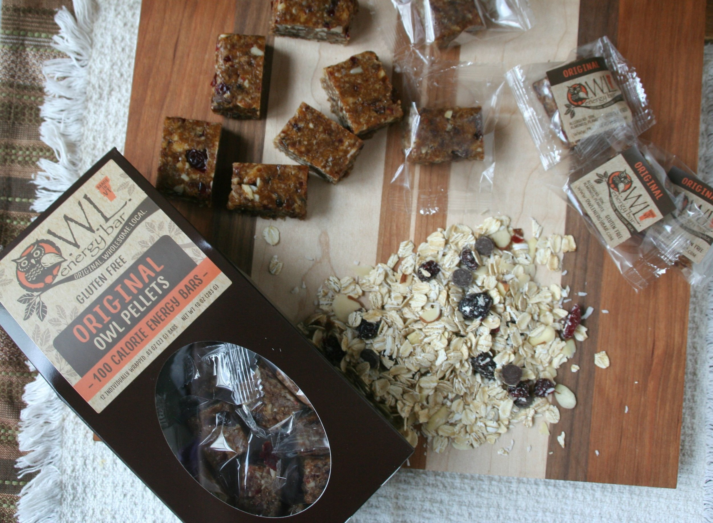 - Handcrafted energy bars with whole food ingredients specifically chosen to support your natural energy levels