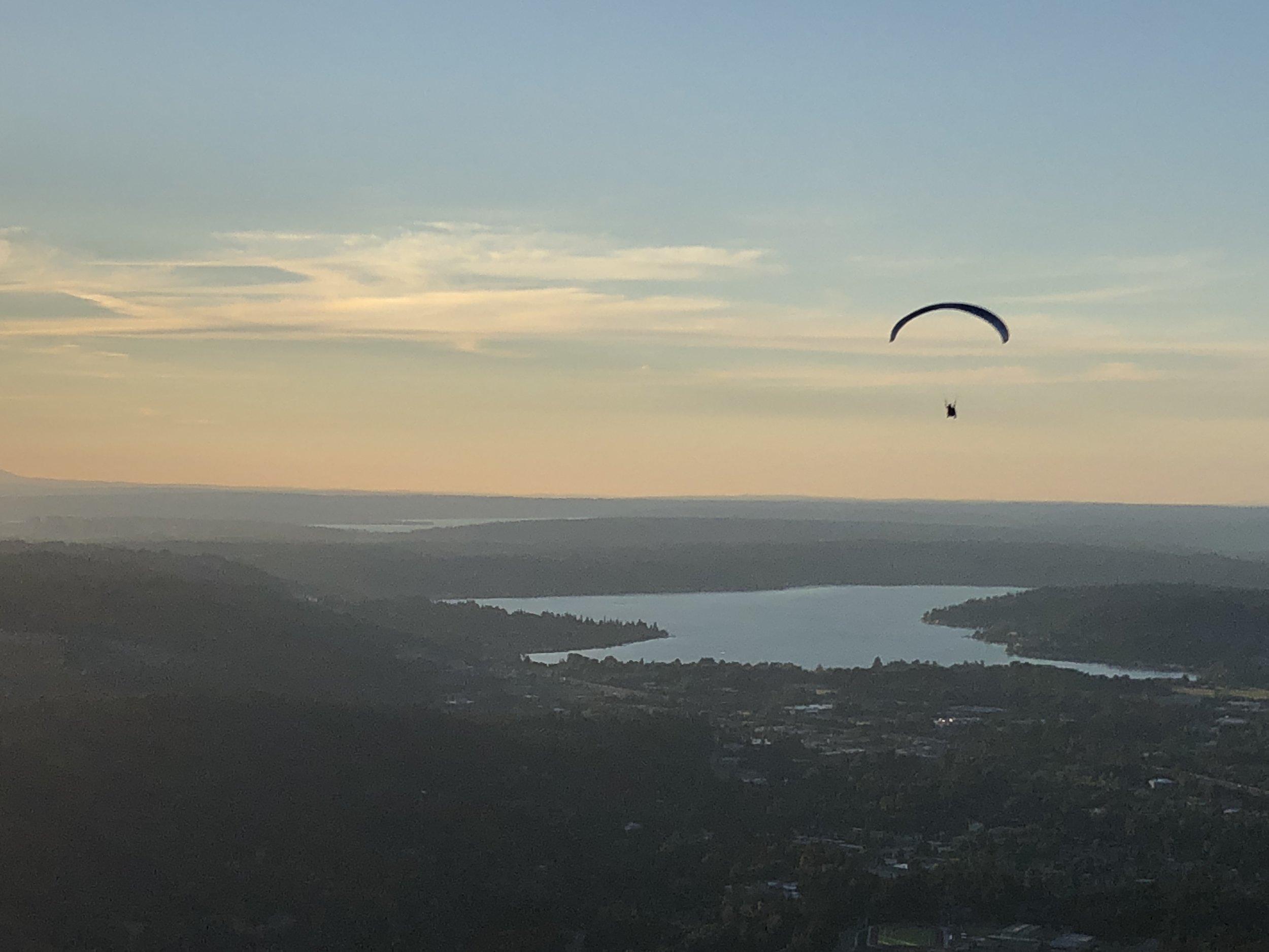 Gliding on Sunset