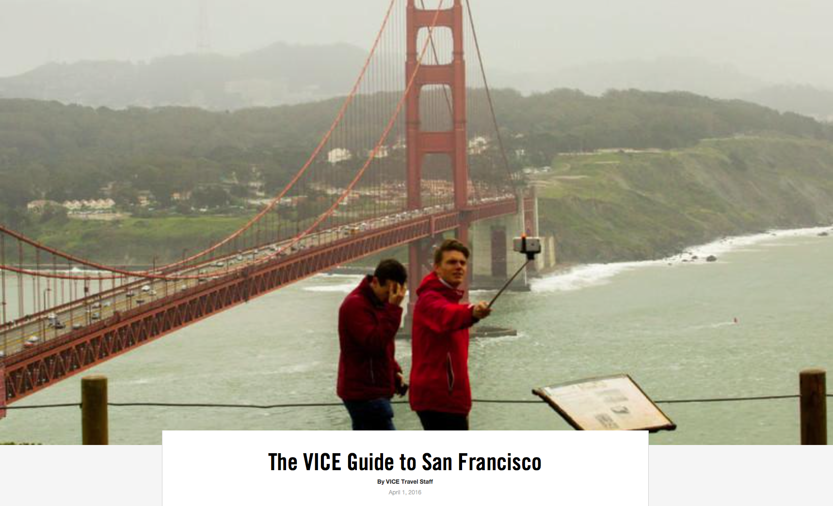 The VICE Guide to San Francisco
