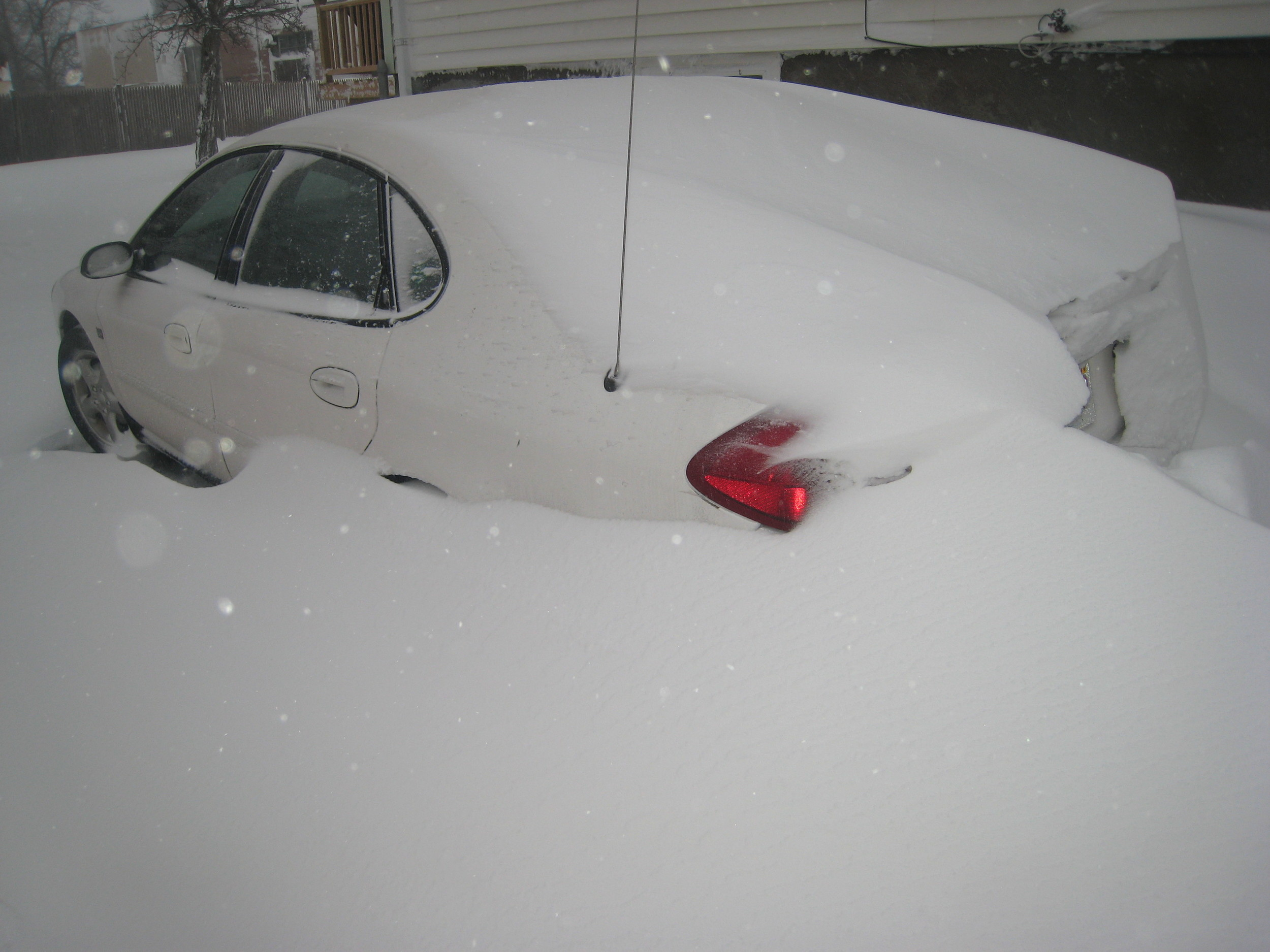 Save them the aggravation of shoveling out of this to go get you.