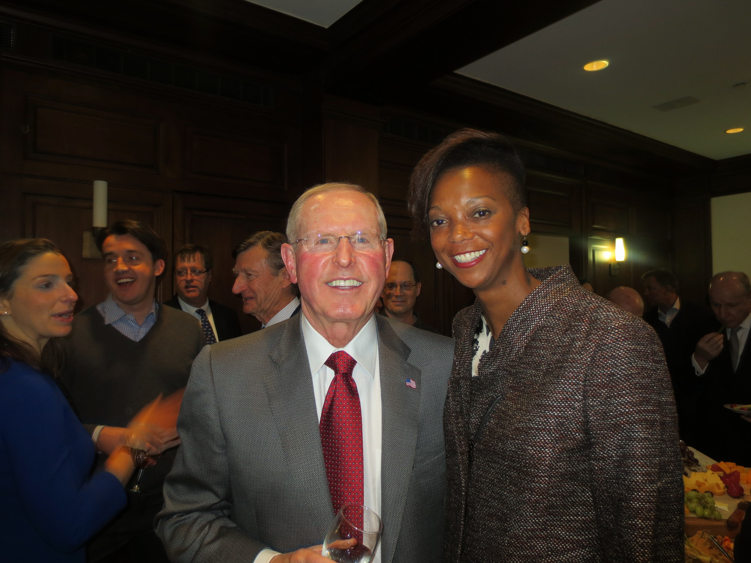 With the admirable Coach Coughlin