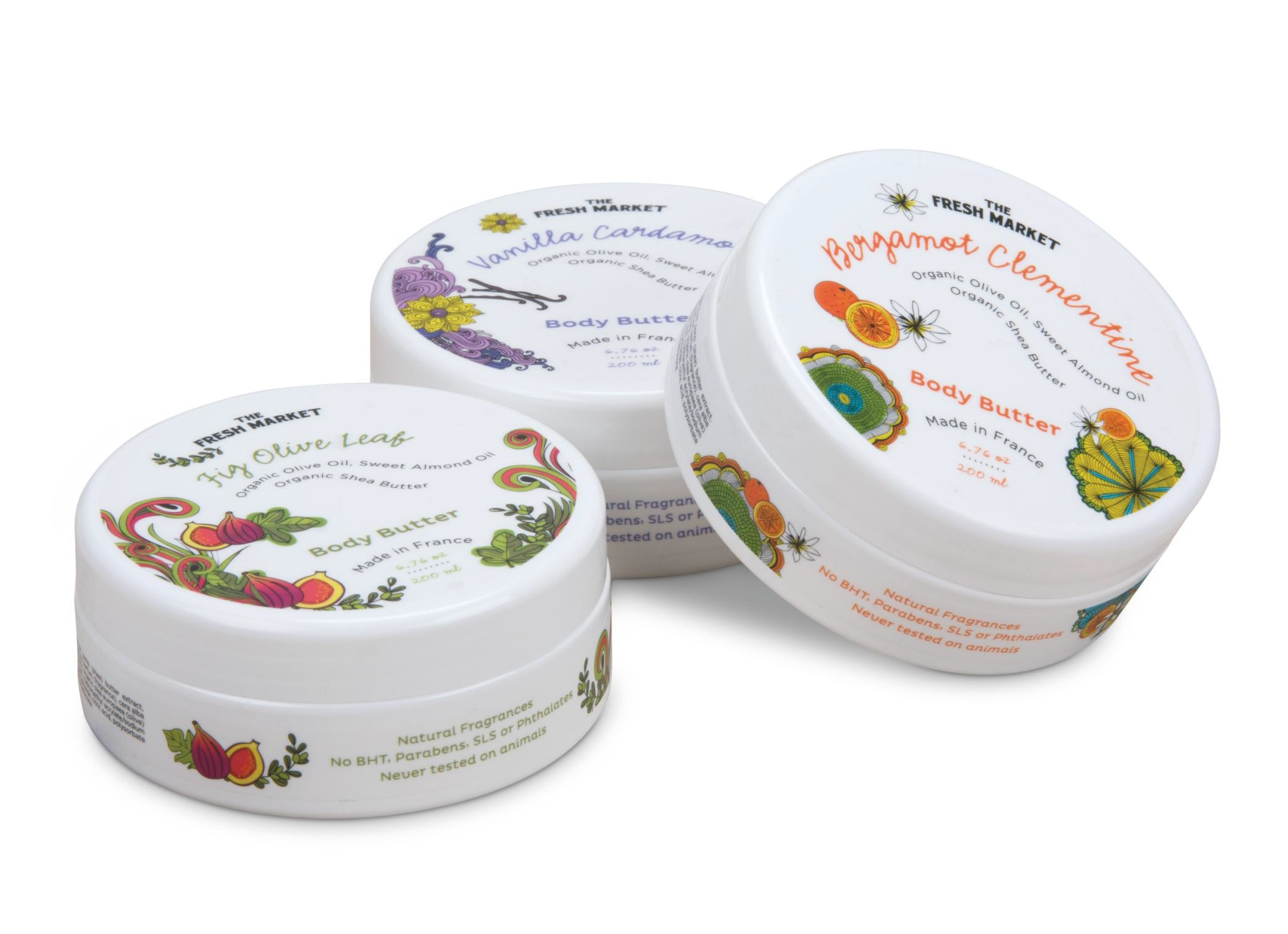 Don't forget to pick up the body butters too!