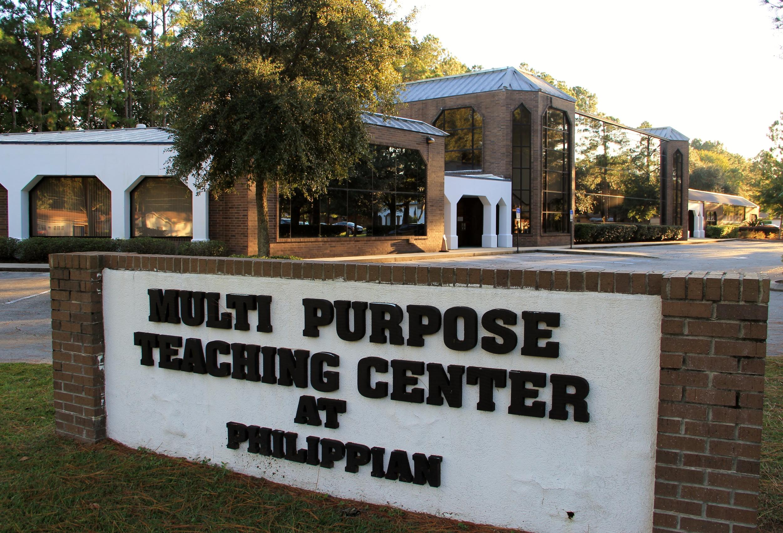 Muti Purpse Center Signage