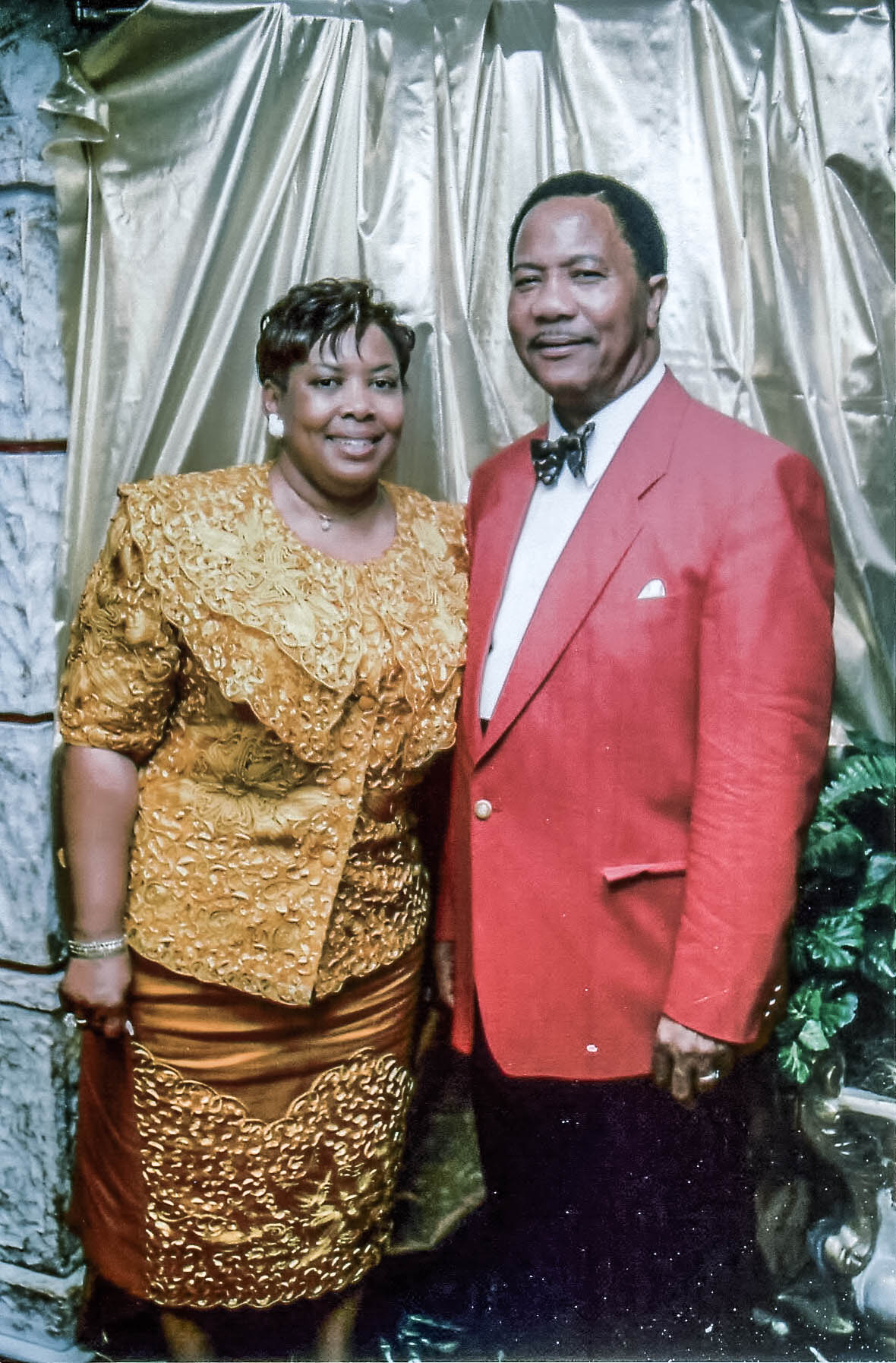 Bishop Callahan and First Lady