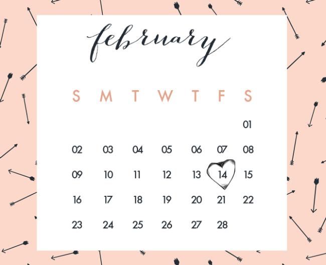 Calendar: Oh The Lovely Things