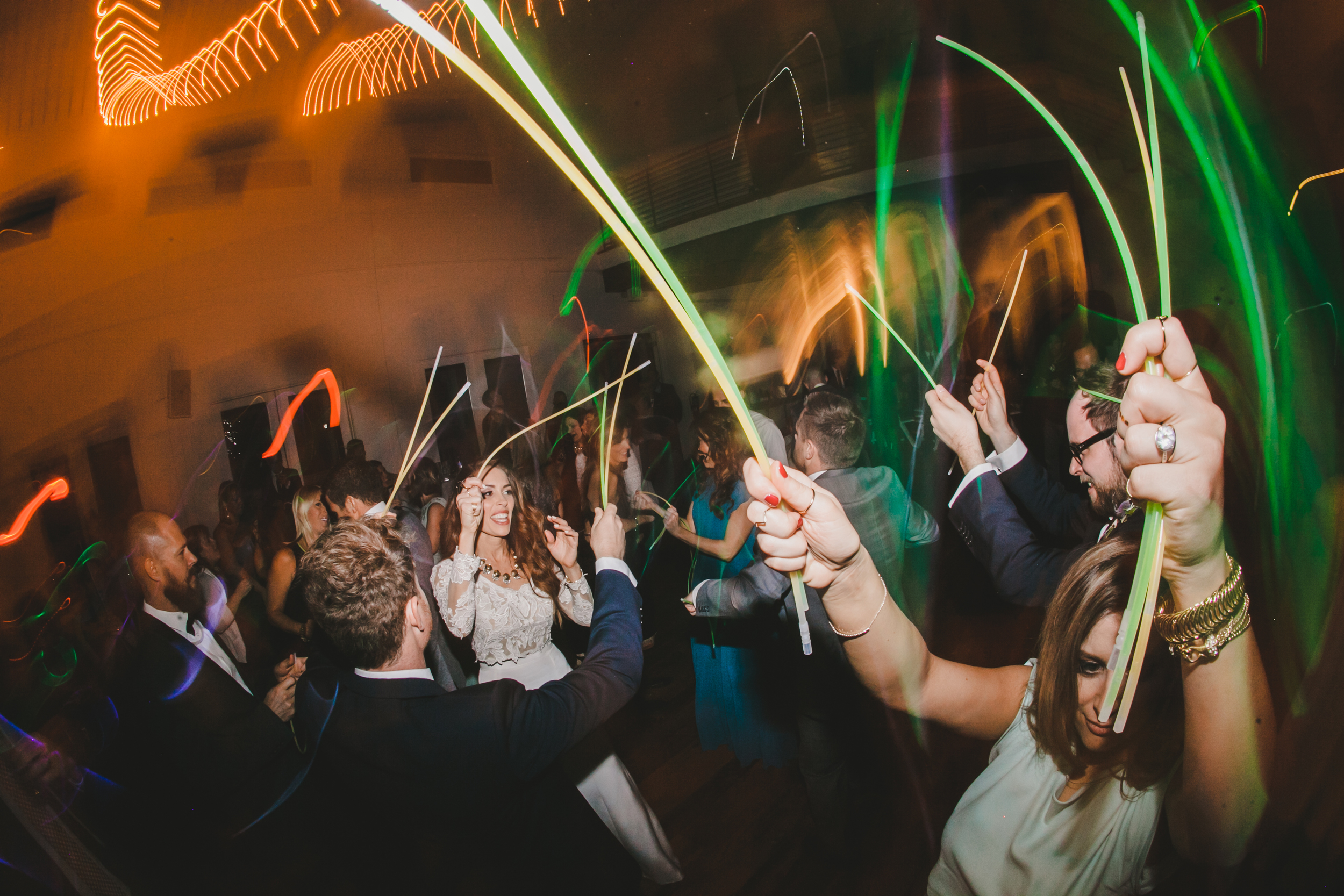 Kneale_Wedding_Reception_Glow_Sticks