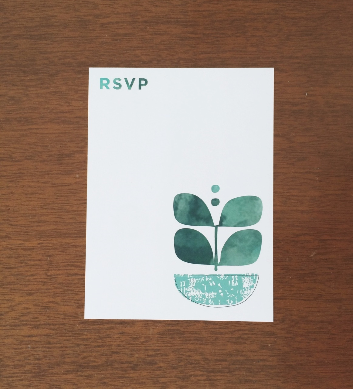 Our RSVP's.